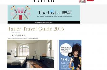 Tatler Travel Guide 2015